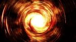 Abstract glowing circles