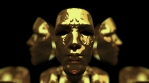 Gatsby VJ Loops 3D Gold Masks