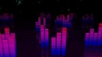 Pink Night Equalizers 4K Vj Loop 04