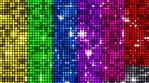 Reflectors Rainbow Colors