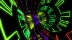 Colorful Space Trip 4K Vj Loop 03