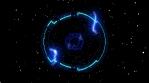 Electric Space 4K Vj loop 02
