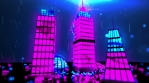 Light Night City 4K Vj Loop 01
