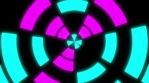 Tunnel Neon Rotating Shapes