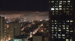 Time Lapse of San Francisco from above while the fog rolls in.