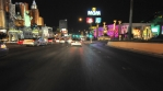 Driving down Las Vegas Blvd.