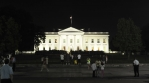Time Lapse of the White House at Night.