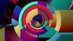 Concentric Rotating Arcs VJ Loop
