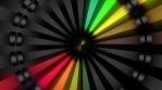 Tunnel Rainbow Neon Animations
