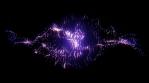 VJ Loop Set Particle Storm - Loop06
