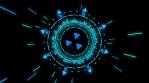 Neon Dance Tunnel 4K Vj Loop 02