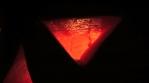 Scary Dark Evil Glowing Pumpkin Halloween Faces