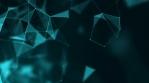 Plexus Motion Background Blue