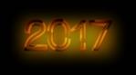 2017 Digits on black BG