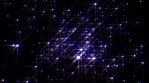 loopable horizontal rainbow particles emitter