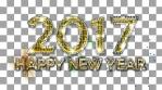 2017 Happy New Year Glimmer Alpha