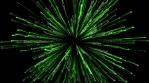 Explosion Green White