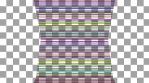 Rainbow Lines Cylinder