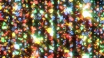 Colorful New Year and Christmas Motion Pattern Rays