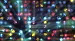 New Year And Christmas Disco Led Wall Rays