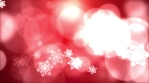 Snowflake Christmas Bokeh Background 04