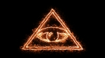 All Seeing Eye on Fire