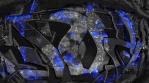 Dark Blue Graffiti Mix