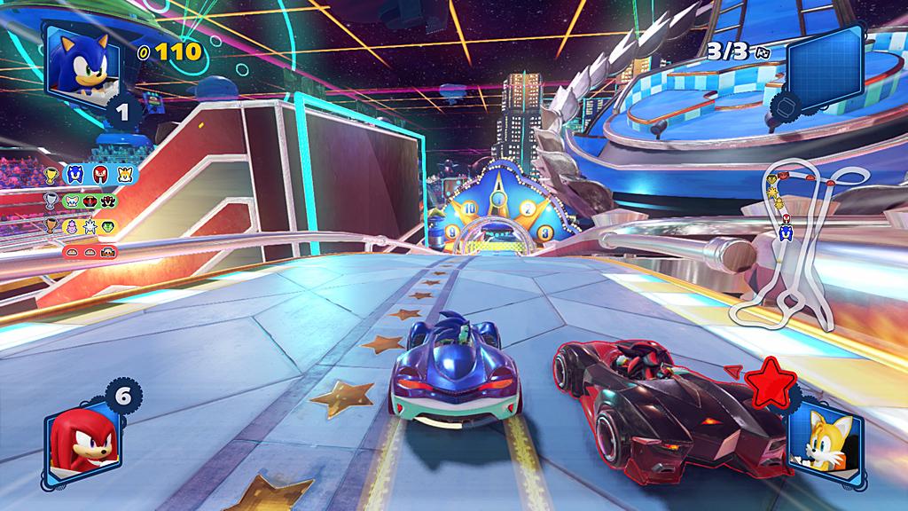 Spel: Team Sonic Racing