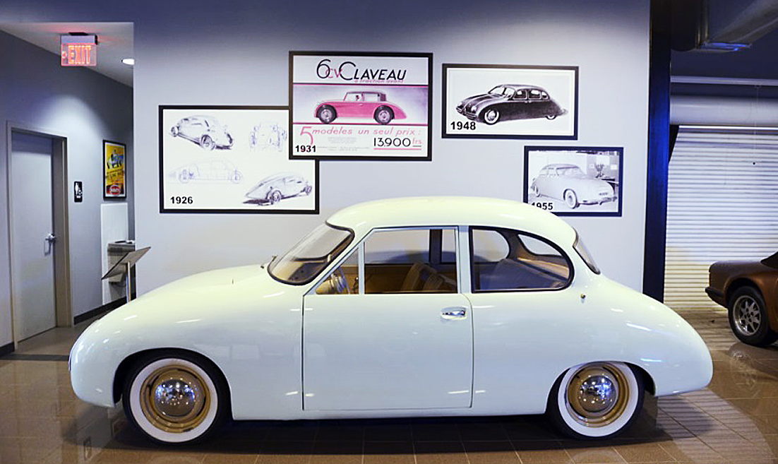 Bilar från A till Ö: Claveau – före sin tid