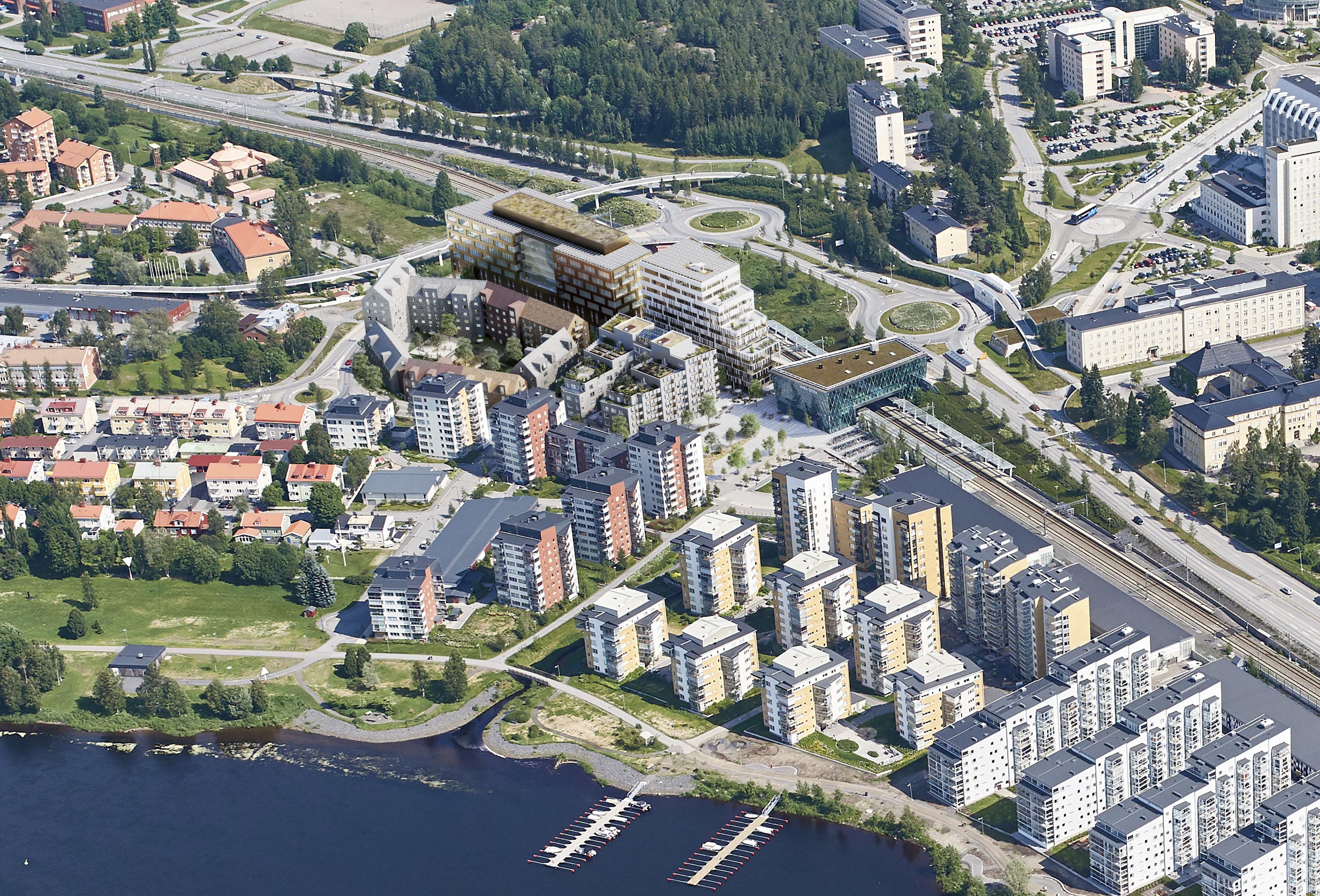 Stora visioner för Umeås framtid