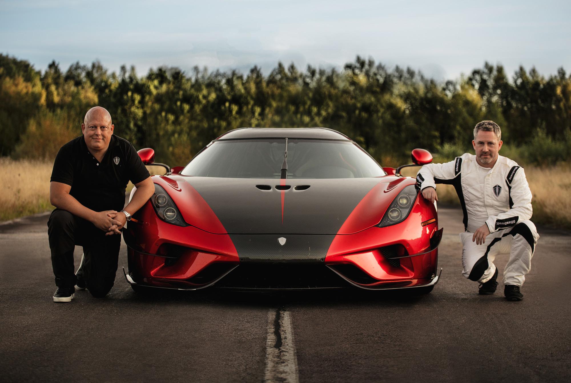 Nya rekord av Bugatti och Koenigsegg