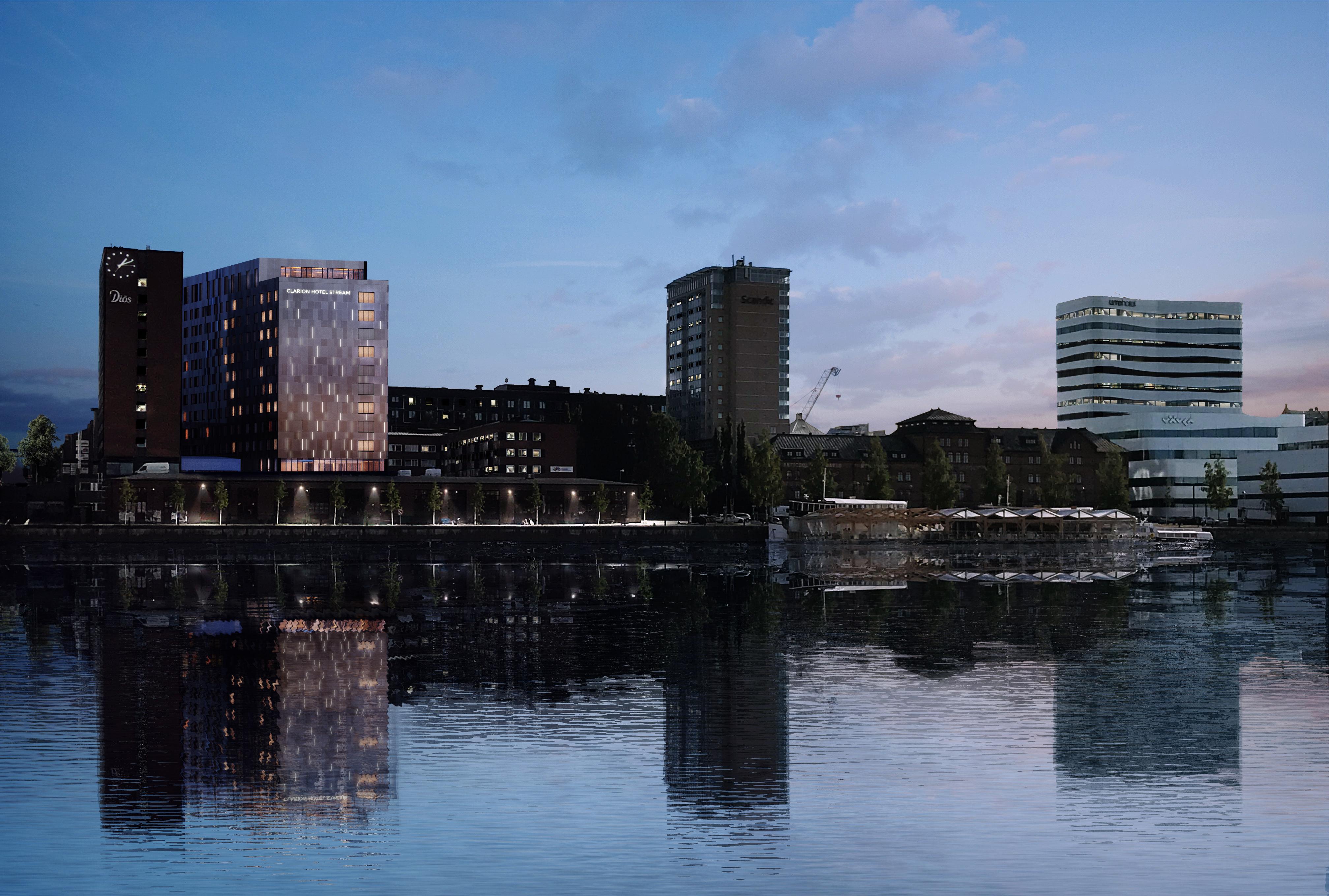 Byggkollen: Clarion Hotel & Kvarteret Magne