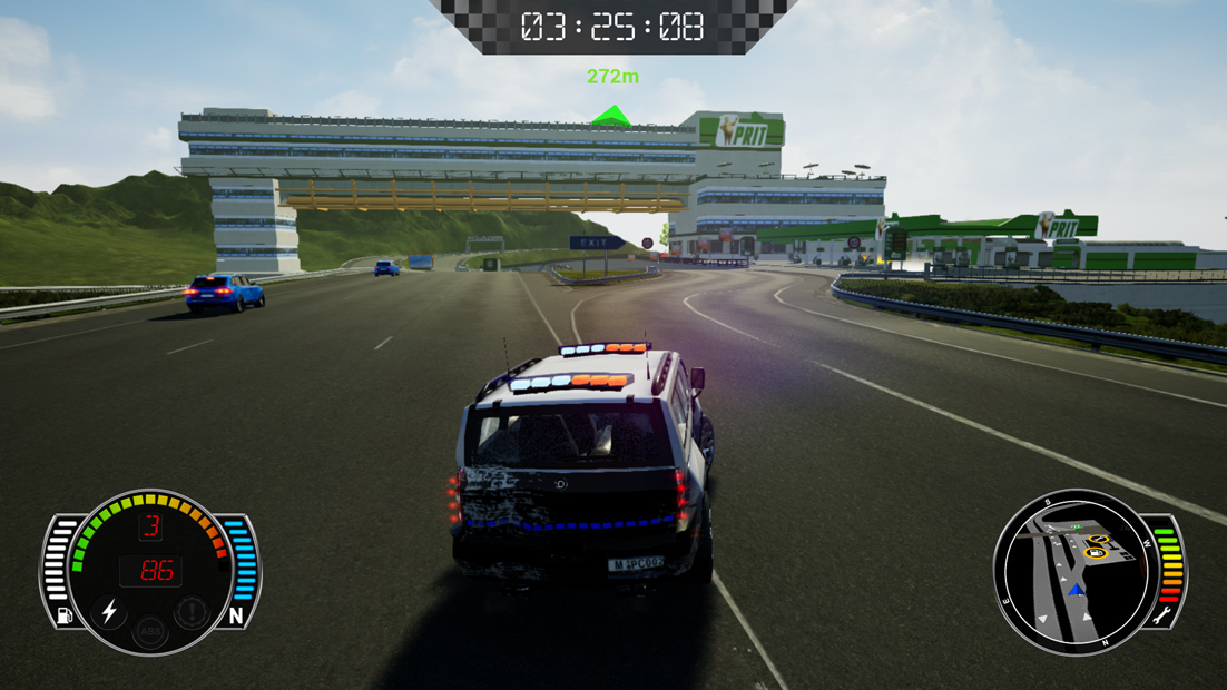 Spel: Police Chase