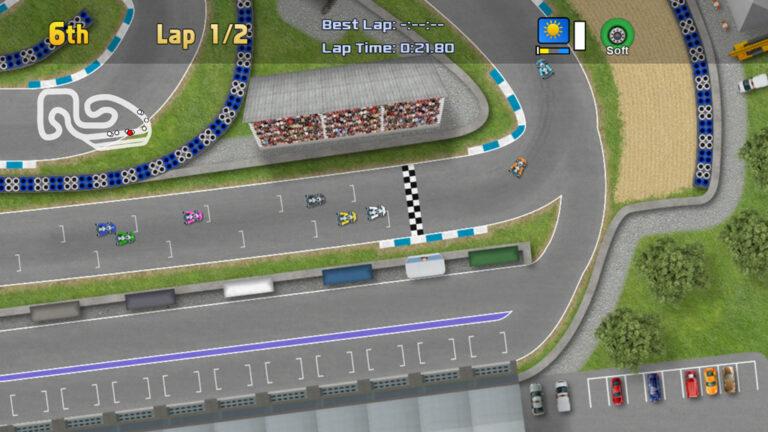 Spel: Ultimate Racing 2D