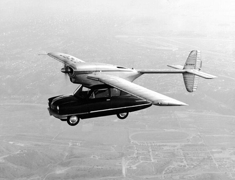 Bilar från A till Ö: Verkligheten tog ner Convaircar på jorden
