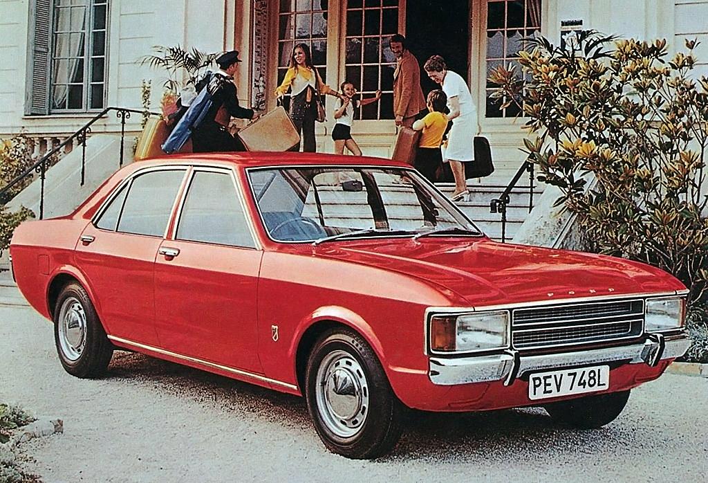 Bilar från A till Ö: Consul – fornromersk Ford