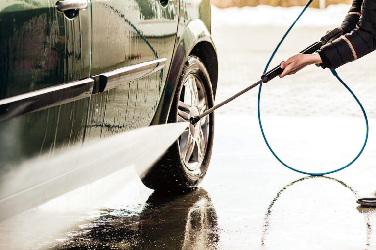 Håll bilen ren i vinter