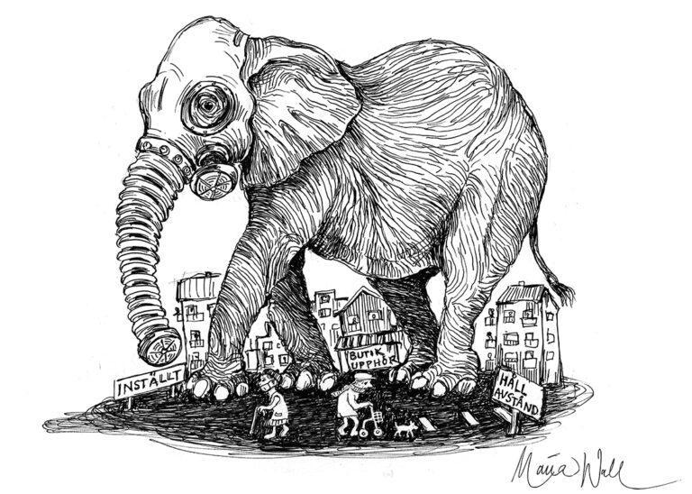 Elefanten i rummet påverkar allt och alla