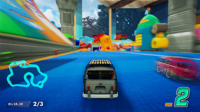 Spel: Super Toy Cars 2