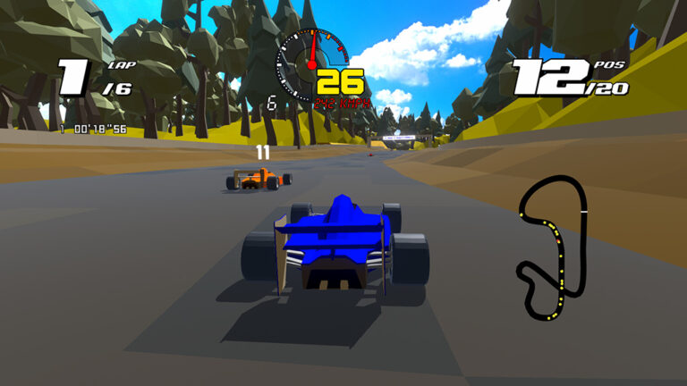Spel: Formula Retro Racing