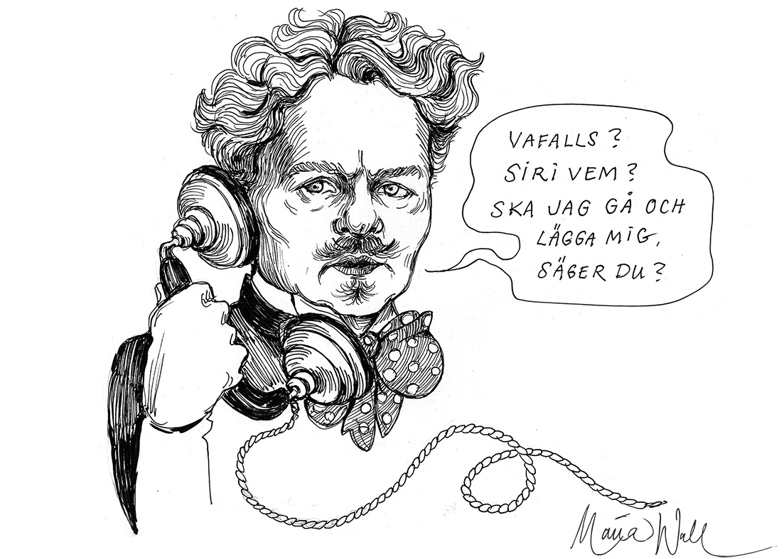 Inget nytt sedan August Strindberg?