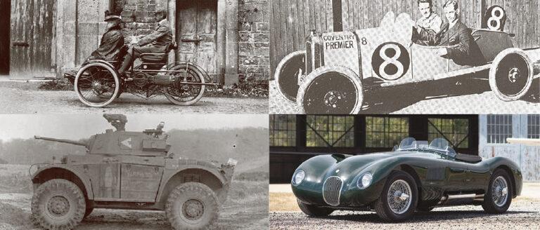 Bilar från A till Ö: Coventry – global bilstad