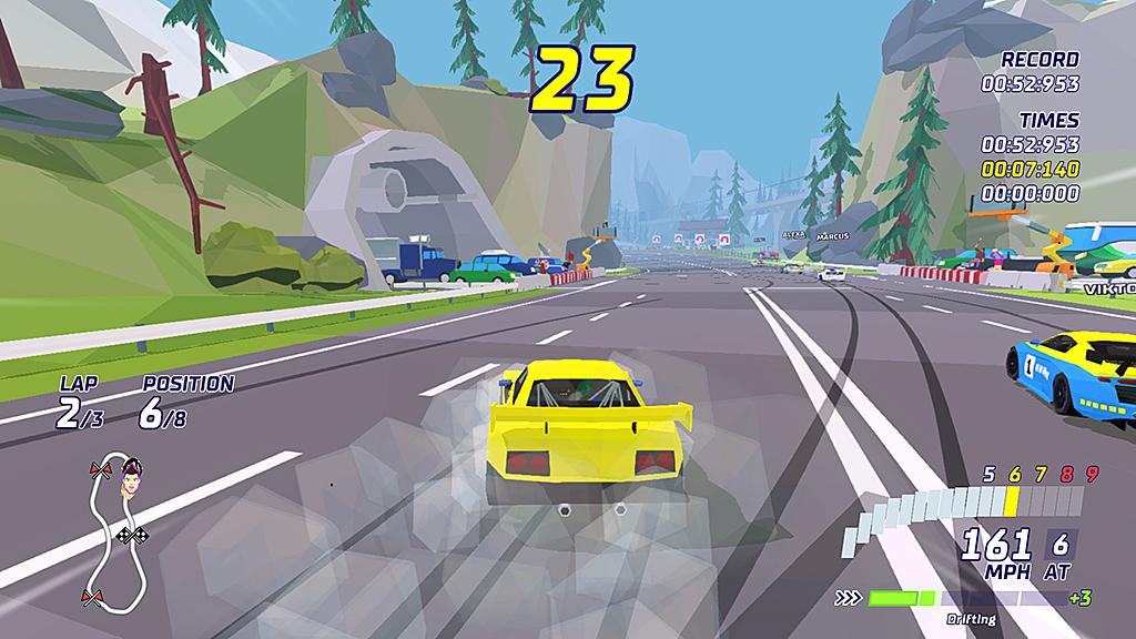 Spel: Hotshot Racing