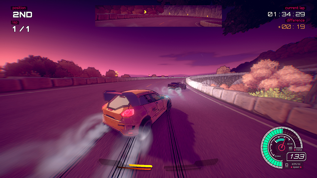 Spel: Inertial Drift