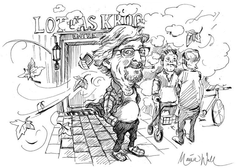 Benny Karlsson isoleras på Lottas Pub?