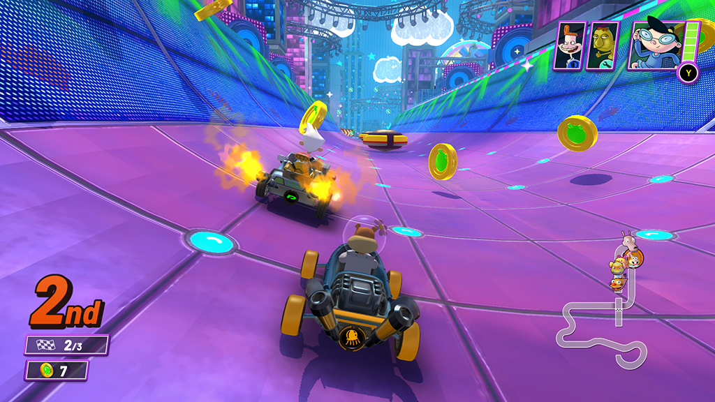 Spel: Nickelodeon Kart Racers 2: Grand Prix