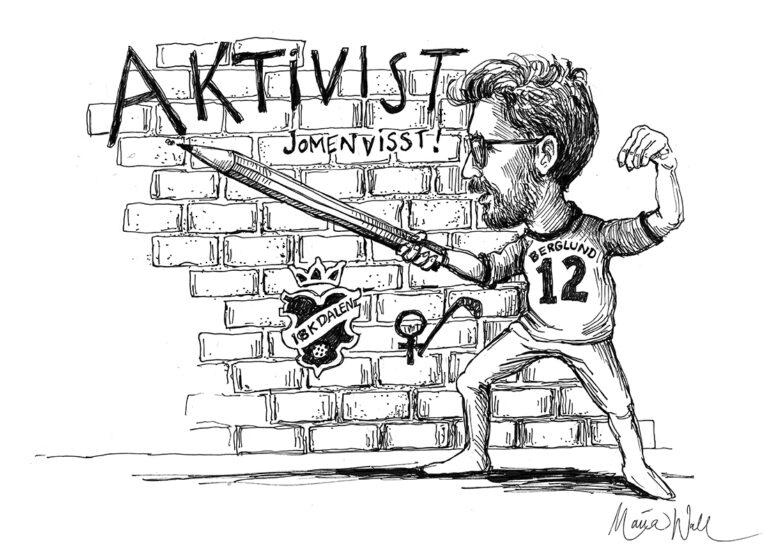 Journalist eller aktivist? Jomenvisst!