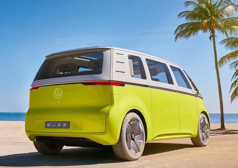 Med minibuss in i framtiden