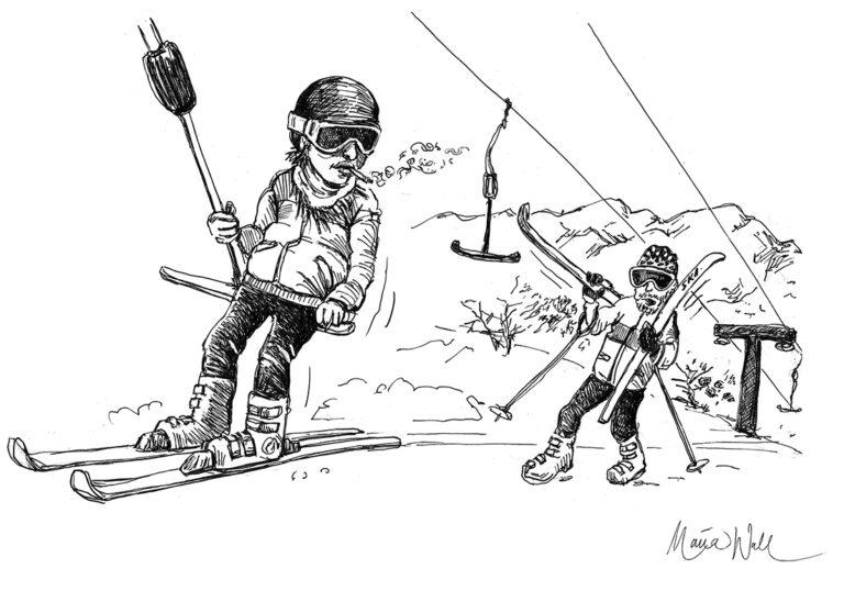 Hedersrelaterad längdskidåkning vardag för många