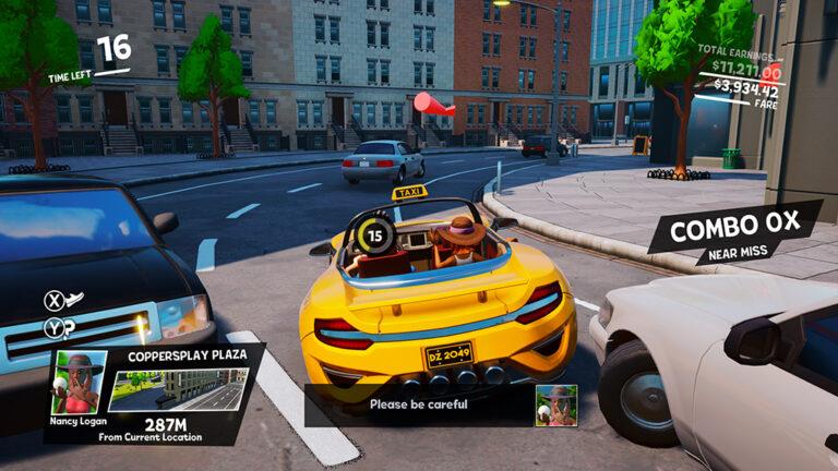 Spel: Taxi Chaos
